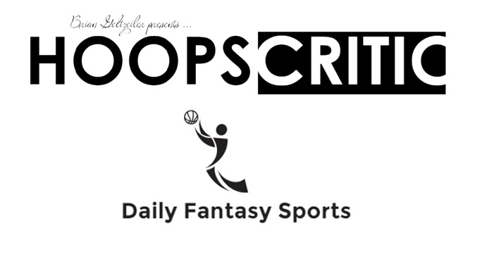 Hoopscritic DFS: Starting 2016 The Right Way