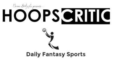 Hoopscritic DFS: Tips For Developing a Cash Strategy